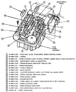 autozone com repair info ford ranger explorer mountaineer 1991 rh westerfunk net 1999 Ford Ranger Fuse Box Diagram 1991 ford ranger fuse panel diagram